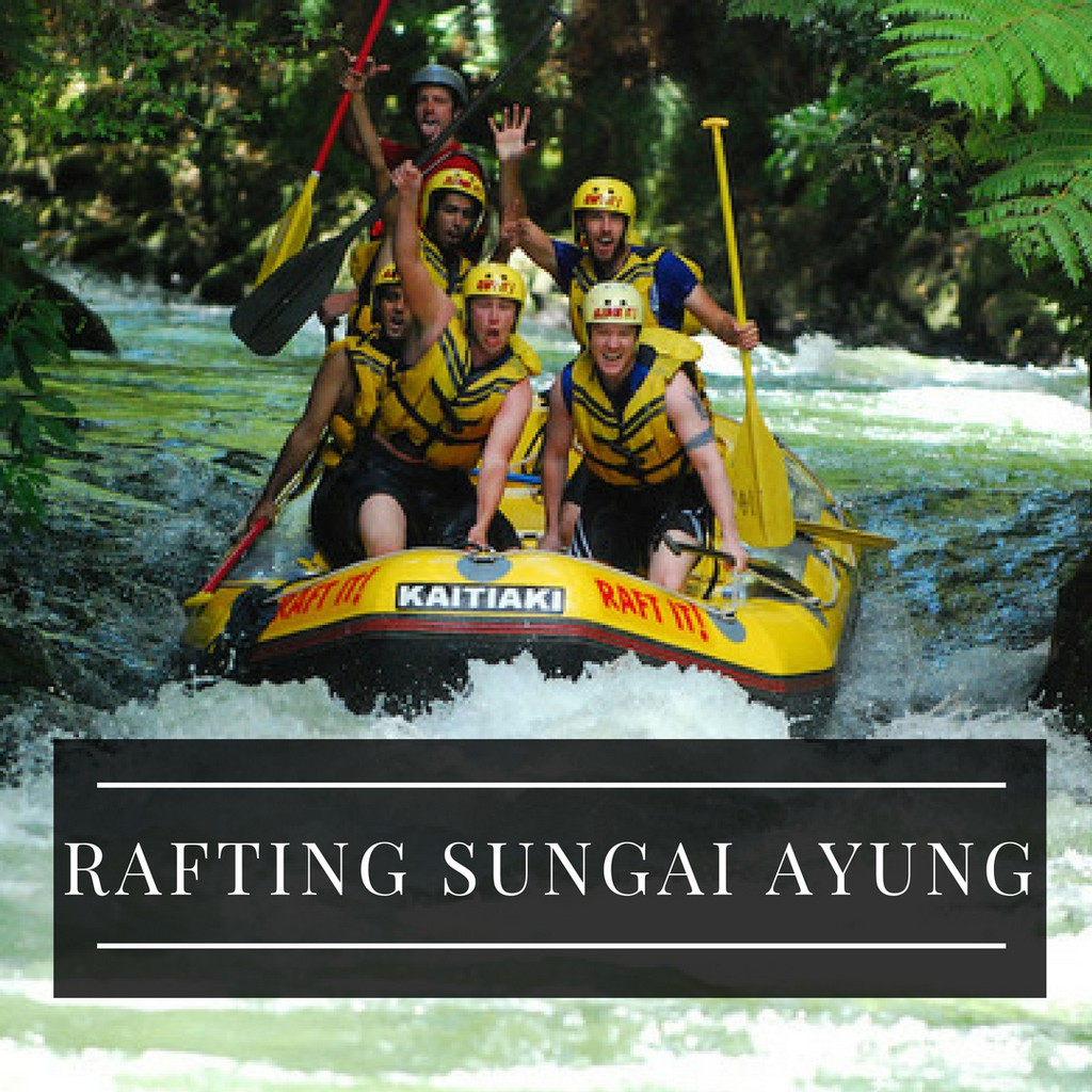 Tiket rafting sobek sungai ayung shopee indonesia