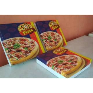 box dus pizza kotak kemasan packaging makanan size 25x 25x ...
