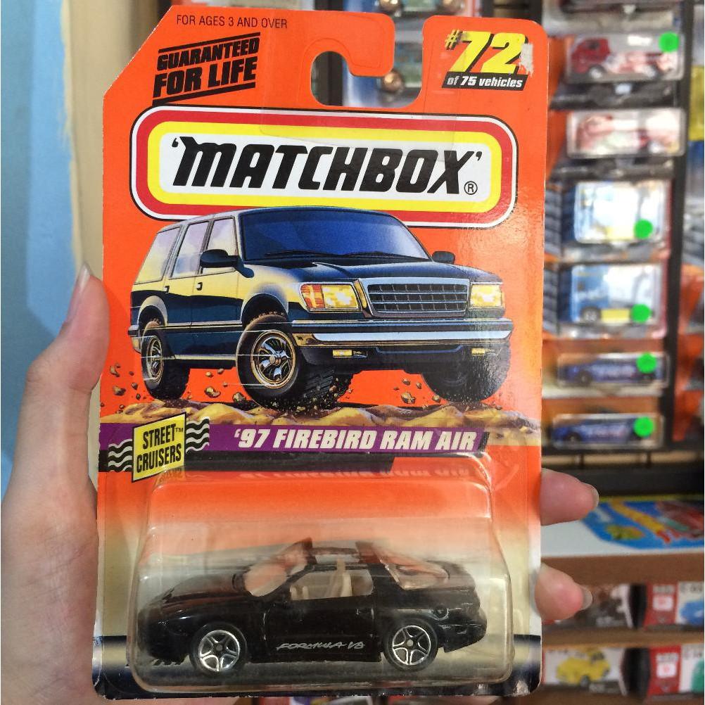 MATCHBOX DIE CAST AUTO/'97 Firebird Ram Air