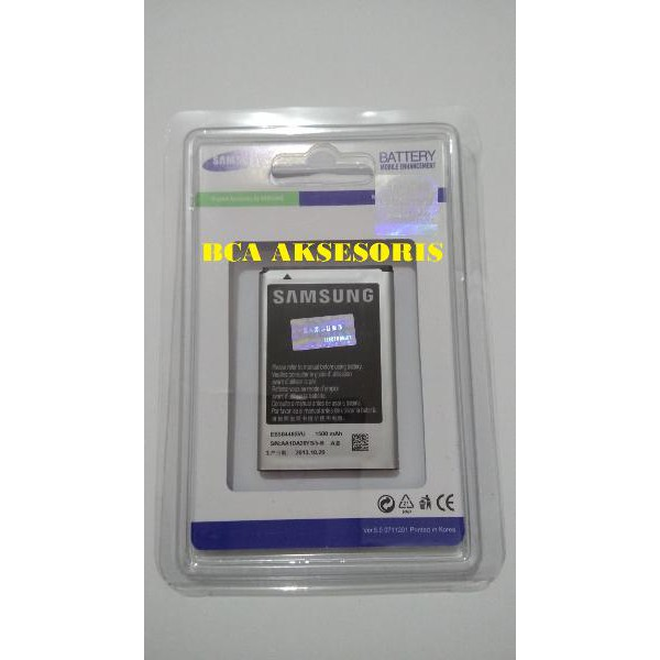 BATERAI SAMSUNG 100% ORIGINAL S5830/ S7500/ S6500/ S6310 | Shopee Indonesia