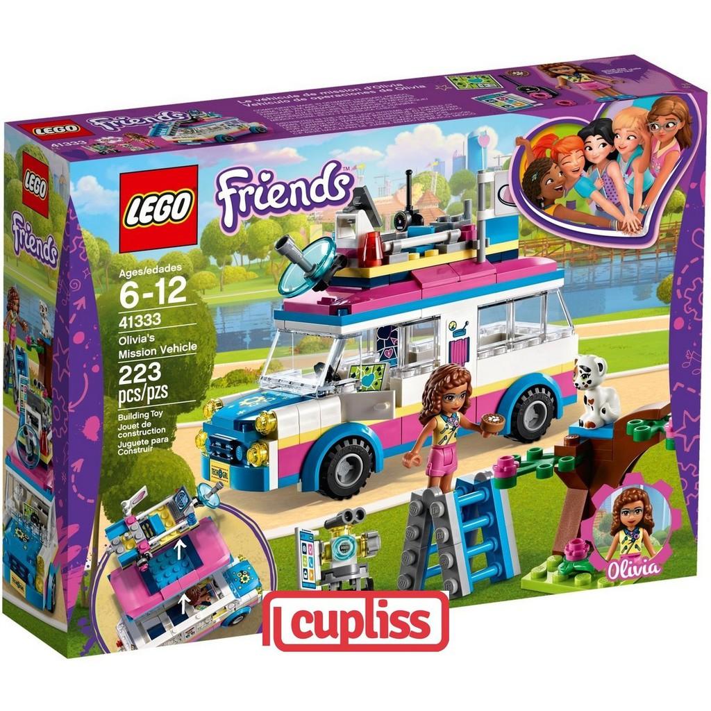 Friends Vehicle Olivia's Mission Lego 41333 v0wmN8n