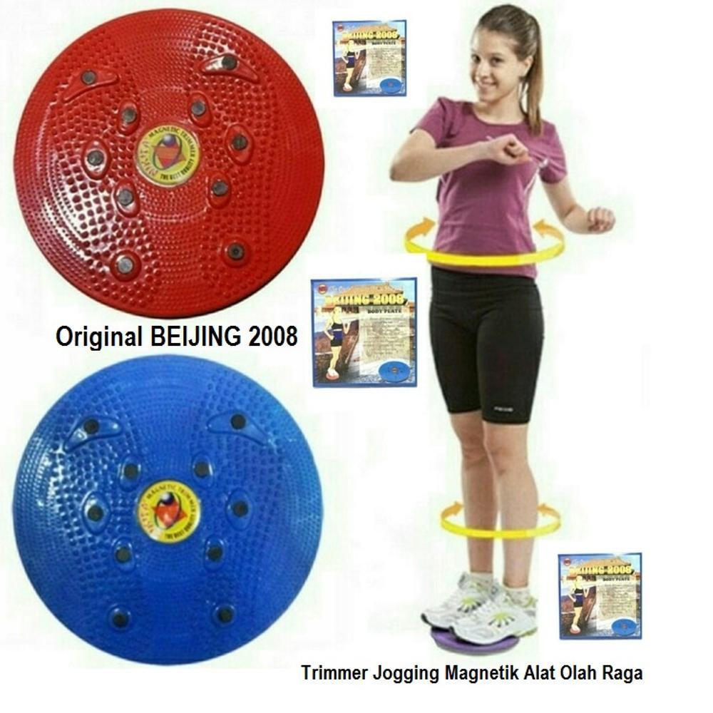 Paket Combo Alat Kesehatan Fitness Tummy Trimmer Dan Nikita Jogging Body Plate   Shopee Indonesia