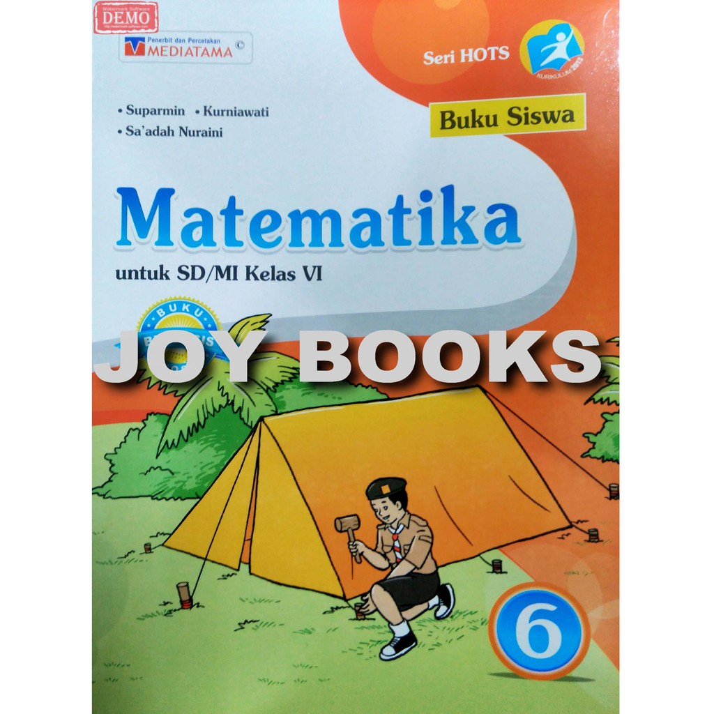 Buku Matematika Kelas 6 Sd Mi Media Tama Shopee Indonesia