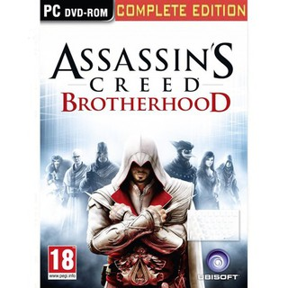 Cd Game Assassins Creed Brotherhood Pc Games Shopee Indonesia