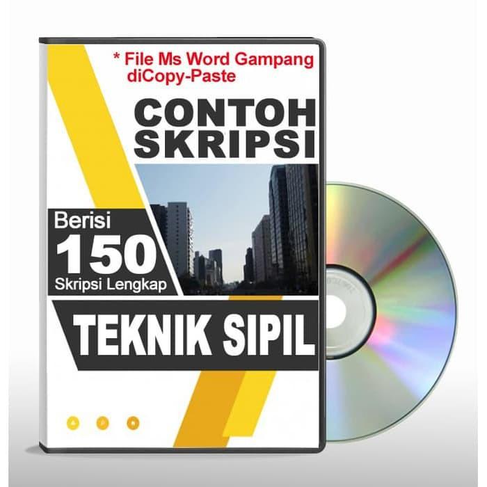 Contoh Skripsi Teknik Sipil File Ms Word Shopee Indonesia