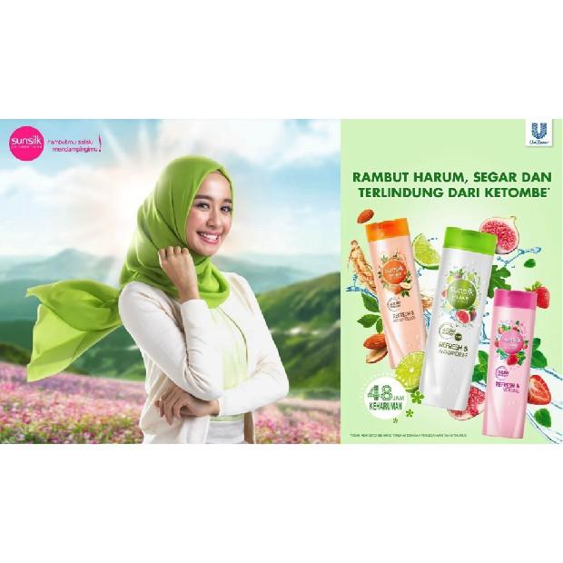 ❤️ Albani ❤️ Sunslik Hijab Refresh & Anti-Dandruff Botol 70 mL - Shampo Sunslik - Anti Ketombe - COD-2