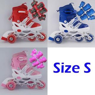 Belanja murah Laris Sepatu Roda BAJAJ + Deker   Pelindung Inline Skate Satu  Set Keren lowest price - only Rp174.714 38b5468054