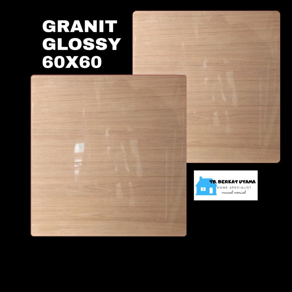 GRANIT GLOSSY 60X60 MOTIF KAYU WOOD HABITAT - GRANIT LANTAI , GRANIT DINDING, GRANIT KAMAR MANDI
