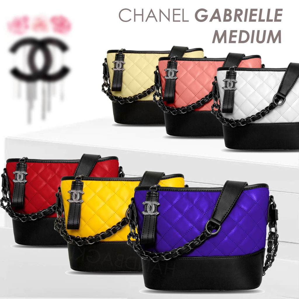 689561c47d9635 HANDBAGKU TAS CHANEL GABRIELLE MEDIUM fashion wanita import batam murah  selempang branded nagita | Shopee Indonesia