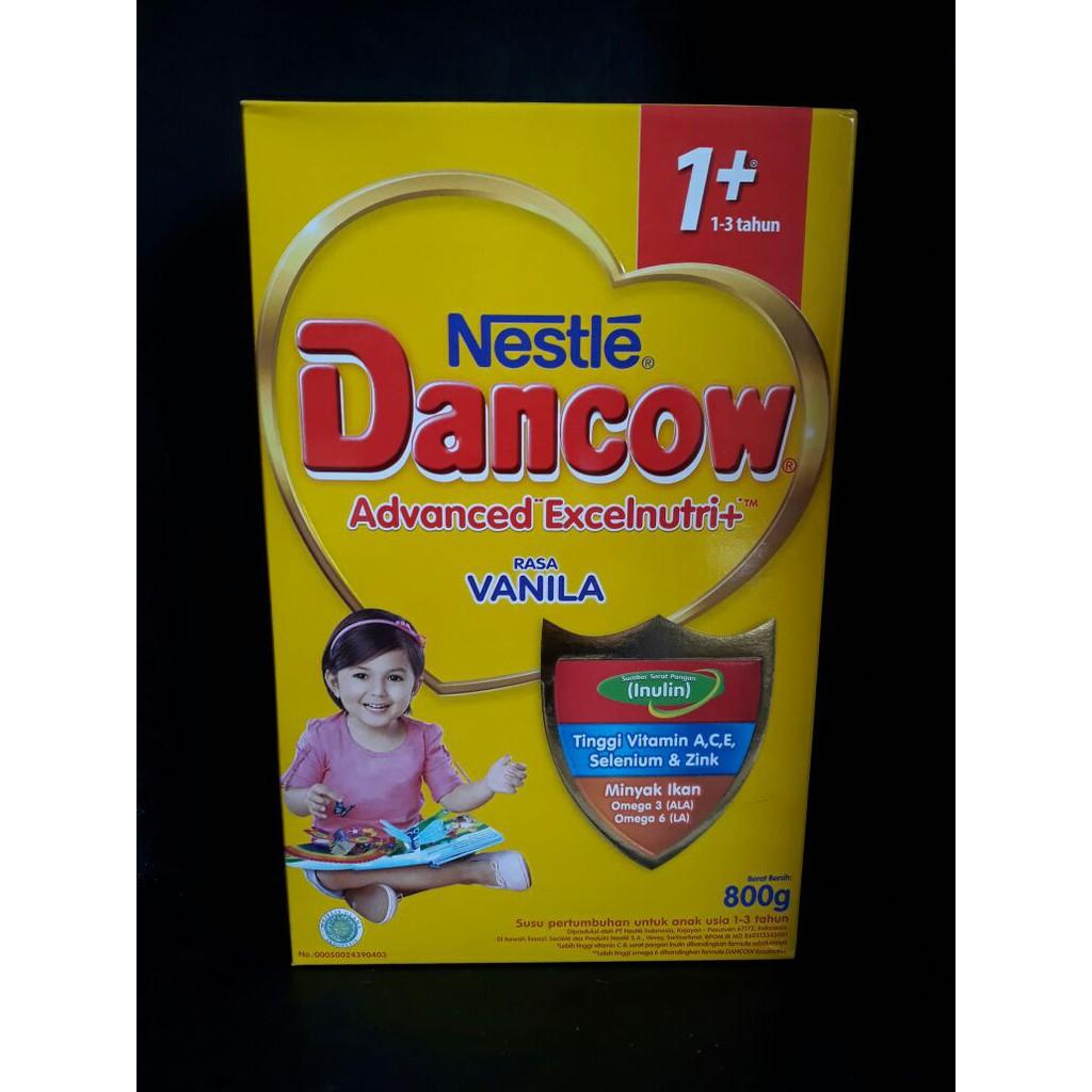 Dancow Advanced Excelnutri 3 800g Vanila Untuk Usia 5 Tahun Chil Kid Regular 1 800gr Shopee Indonesia