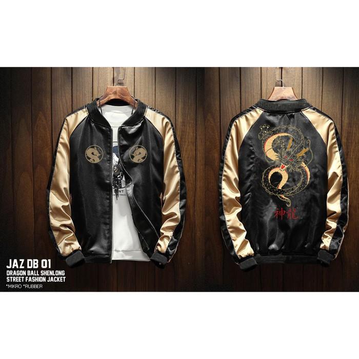 Jaket Anime Dragon Ball Shenlong Street Fashion Jaz Db 01 Shopee Indonesia