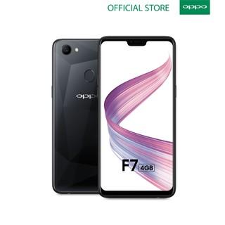 OPPO F7 Smartphone 4GB+64GB Black Al Powered Selfie
