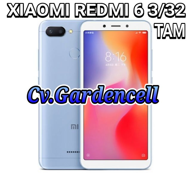 Xiaomi Redmi 6 3 32 Tam Shopee Indonesia