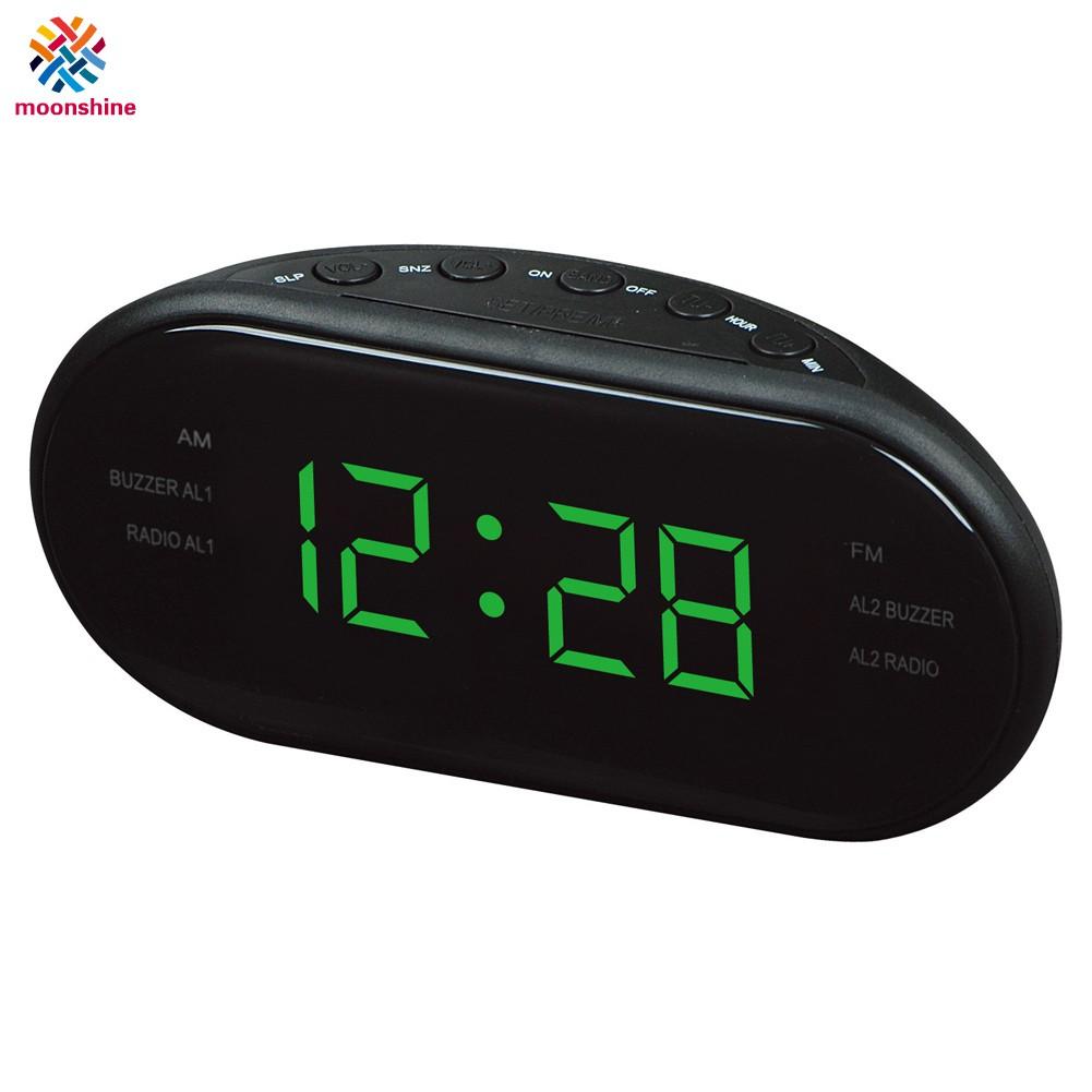 Am Fm Radio Alarm Clock Digital Led
