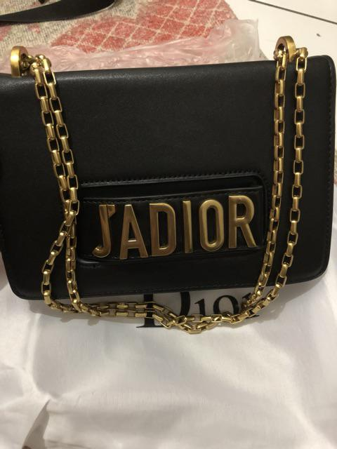 TAS BRANDED IMPORT MURAH - Tas Dior Jadior Flap Chain Calfskin Semi ... 238e2f37ad
