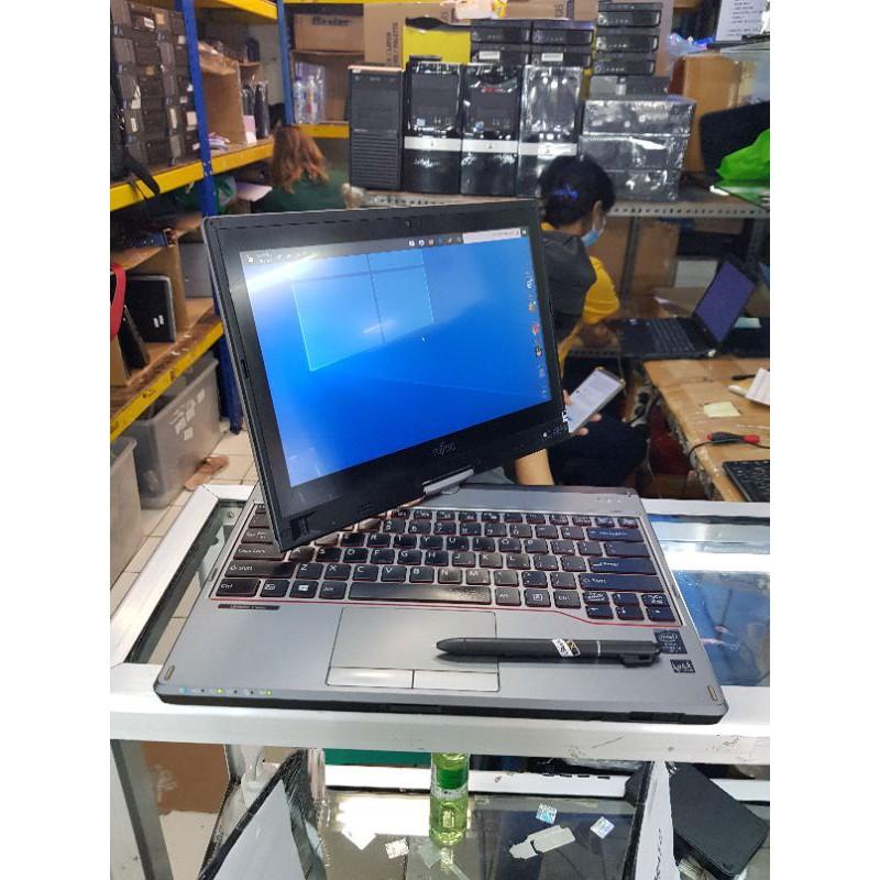 Laptop Tablet Fujitsu Touchscreen Core i5 Ram 4gb Hdd 500gb 12inch