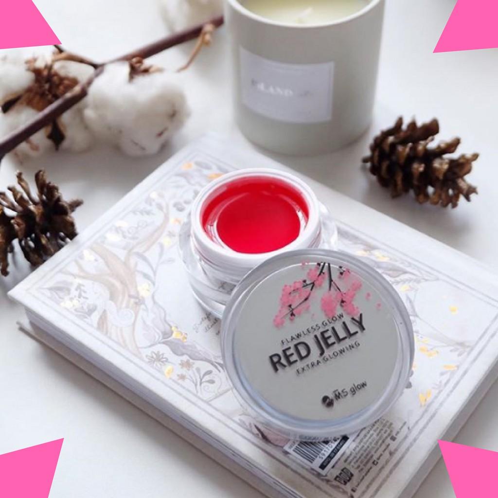 MS GLOW Flawless Glow Red Jelly Extra Glowing Original New Packaging Di Jamin 100% Asli - 20 Gr | Shopee Indonesia