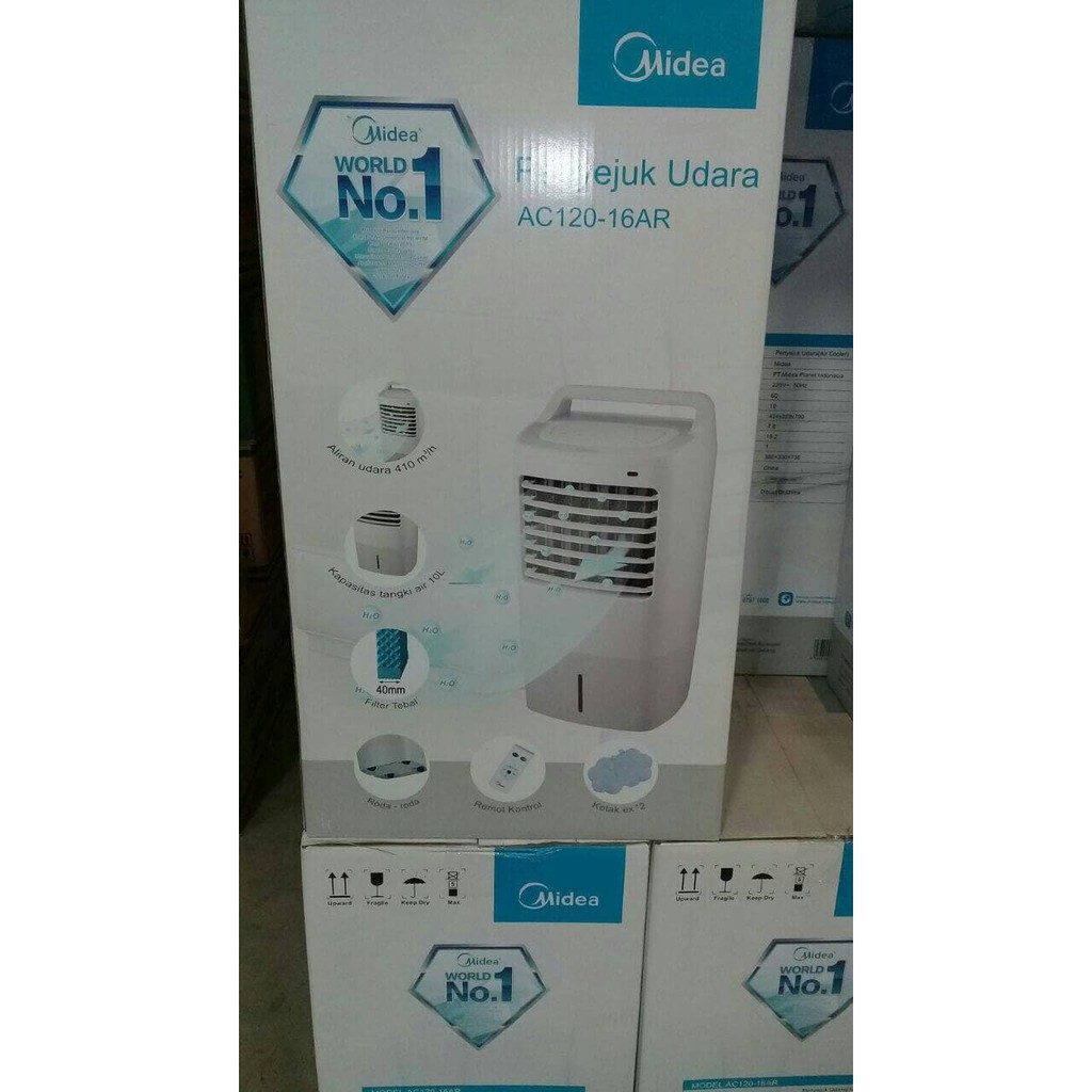 Hot Air Cooler Sharp A36ty Cool With A Button Away Shopee 100al Penyejuk Indonesia
