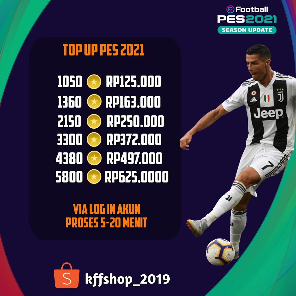 (TERMURAH) TOP UP COIN E-FOOTBALL PES 2021 VIA LOG PAY GPC