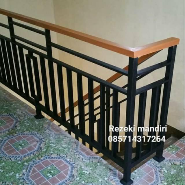Reling Balkon / Reling Tangga / Pagar Balkon / Reling Minimalis / Furniture  | Shopee Indonesia