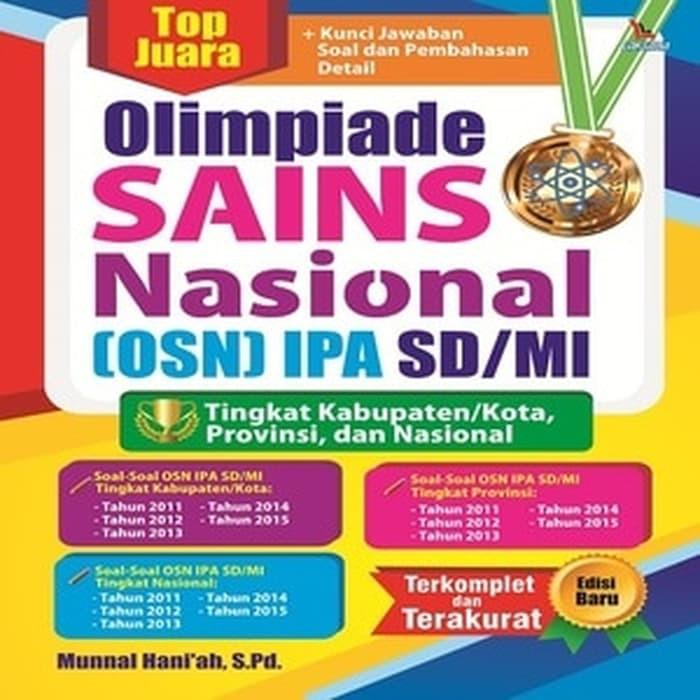 Top Juara Olimpiade Sains Nasional Osn Ipa Sd Mi Bk790 Shopee Indonesia