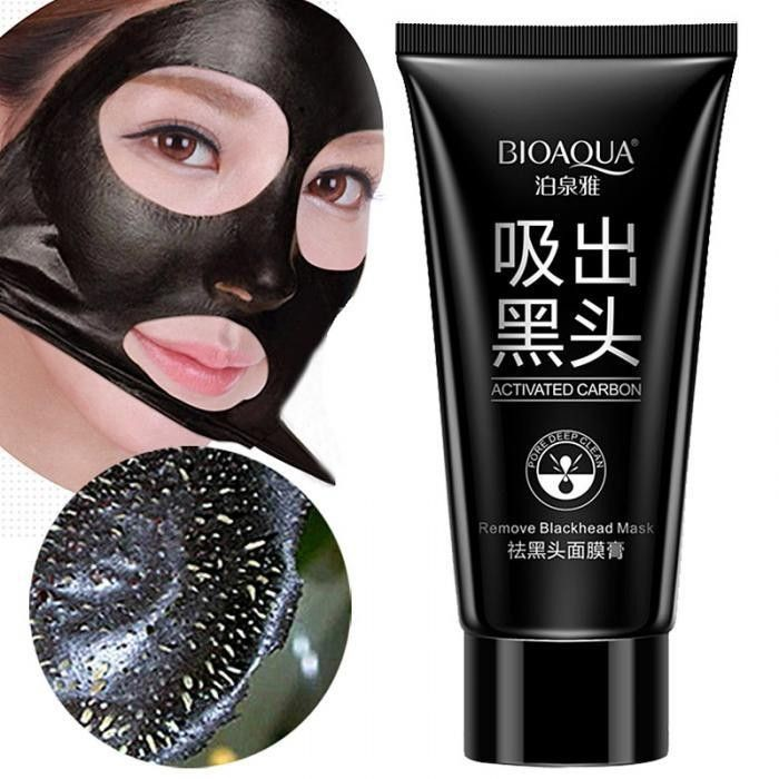 [COD]BIOAQUA Masker Ekstrak Tanaman Hyaluronic untuk Melembabkan | Shopee Indonesia