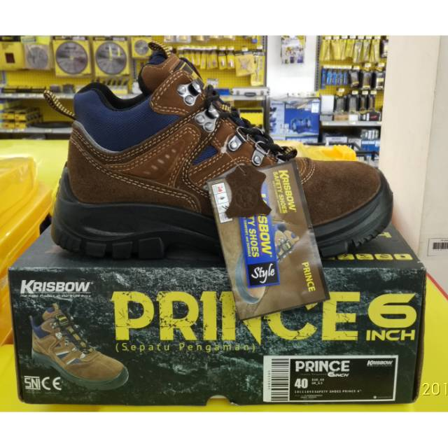 b49ee27d054 KRISBOW safety shoes prince 6 inch