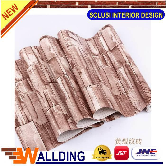 🔥Best Price🔥 Wallpaperdinding Stikerdinding Dekorasi Dinding Batu
