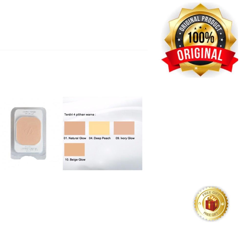 Original Bedak Padat Inez Compact Powder Refill Isi Ulang Ready 4 Compac Warna Shopee Indonesia