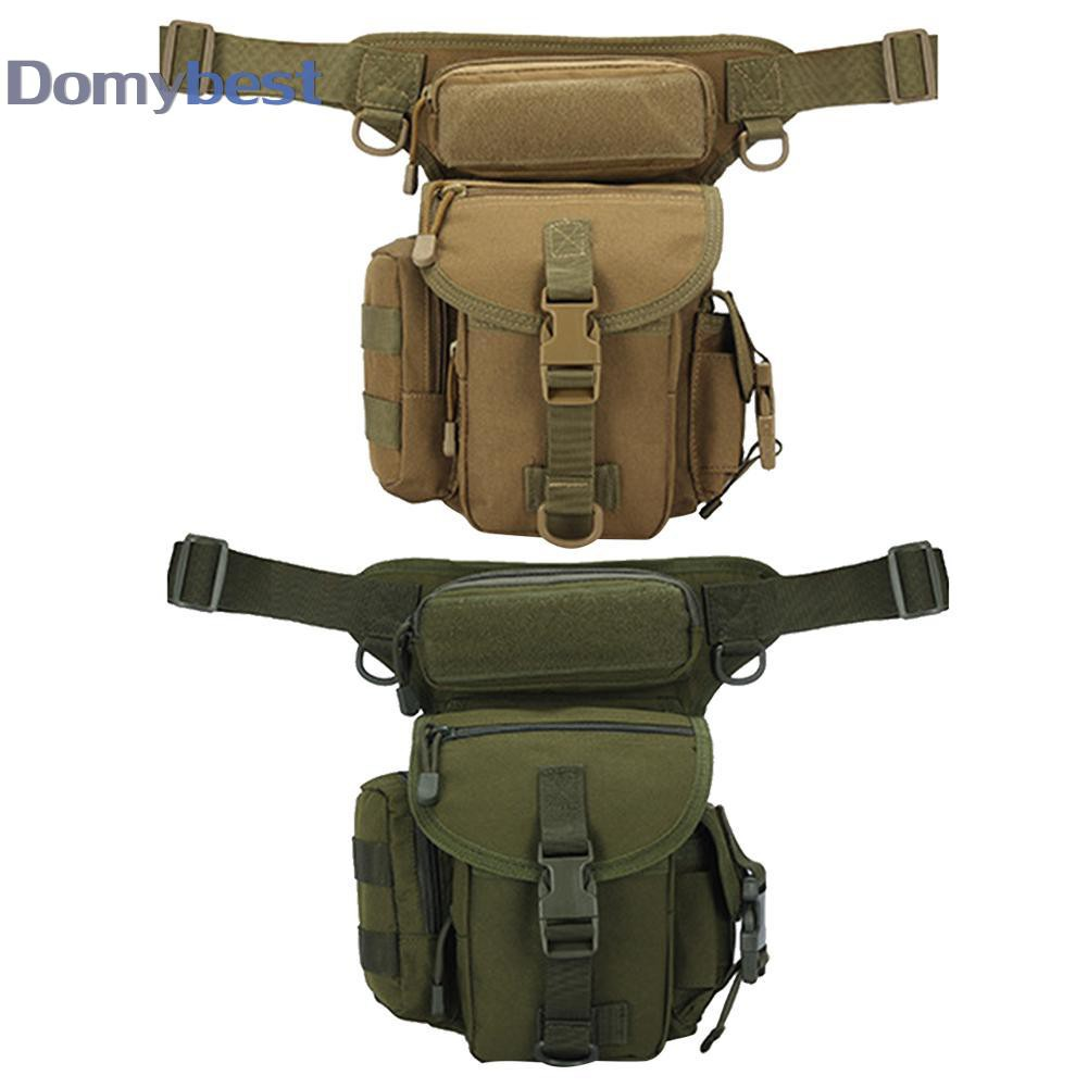 Domybest Molle Bag Waterproof Waist Bag Fanny Pack Hiking Fishing Sports