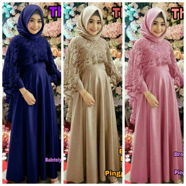 THIARA DRESS MAXI // GAMIS BY ALEXA