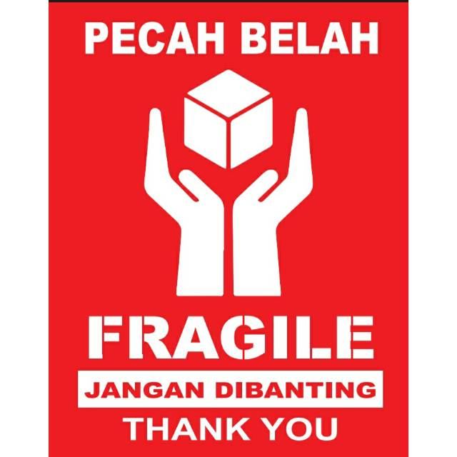 stiker fragile stiker pecah belah ukuran 5 5 x 7 cm shopee indonesia stiker fragile stiker pecah belah ukuran 5 5 x 7 cm