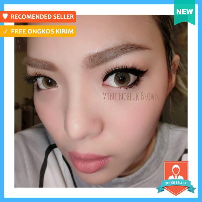Softlens Dreamcon / Dream Color Mini Monica Brown (Coklat) | Shopee Indonesia