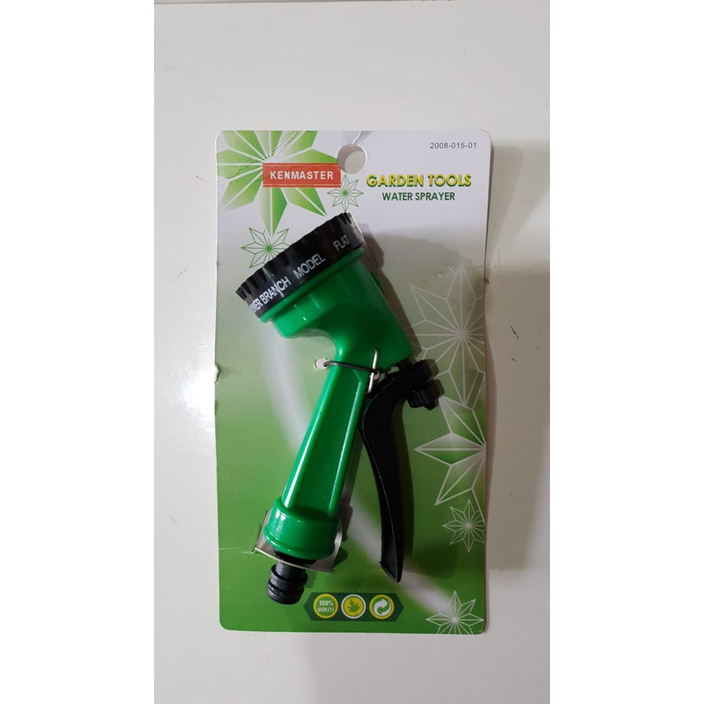 KENMASTER 7 POSISI semprotan air taman kebun hose nozzle selang | Shopee Indonesia