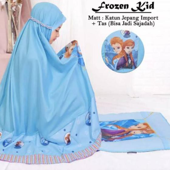 Cbg 057 Mukena Anak Katun Karakter Frozen Hello Kitty Kuda Poni Shopee Indonesia