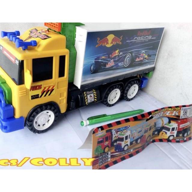 Terkini Mainan Mobil Truk Boks Truck Box Ukuran Besar Promo Hari Ini Shopee Indonesia