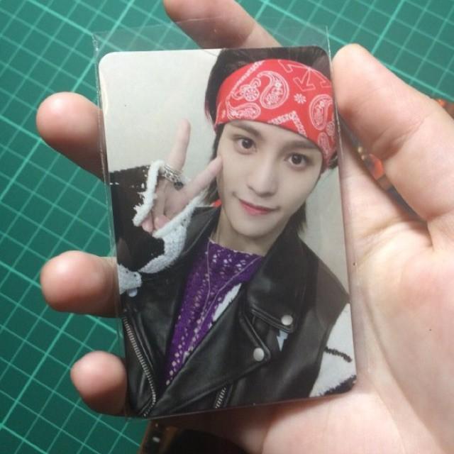 wtt/want to trade yangyang photocard to lucas/ten/xiaojun/winwin hitchhiker ver kick back WayV