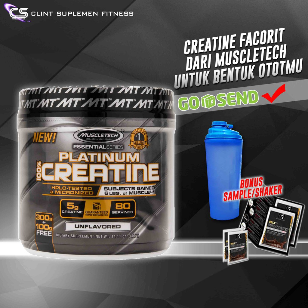 Muscletech Platinum Creatine 400 Shopee Indonesia Pro Hybrid Whey Ecer 2 Lb Mirip Elite Syntha Isobolic Mutant Protein Isolate