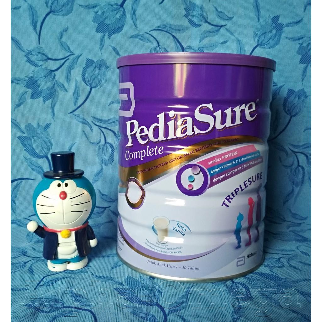 Pediasure Complete Triplesure Vanila Madu 400gr Pusat Susu Coklat Online 100 Asli Shopee Indonesia