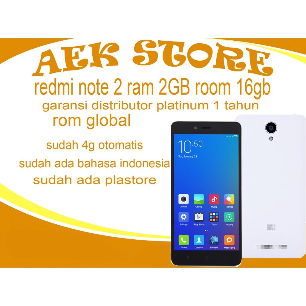 Promo Sale Xiaomi Redmi Note 4g Lte 2 8gb Garansi Distributor 1 Bestseller New 4x Prime Ram 3gb Internal 32gb Dist Thn Tahun Termurah Shopee Indonesia