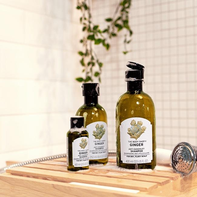 The Body Shop Shampoo Ginger 60Ml Ax  (Anti-Dandruff)-3