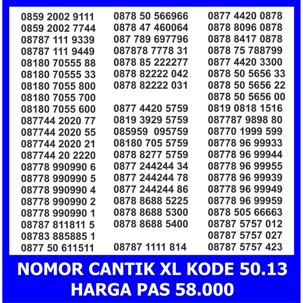 Nomor Cantik XL 0878 0878 8866 8585 - XL 0878 0878 8585 - Nomer Cantik XL abab - XL 0k - XL Super | Shopee Indonesia