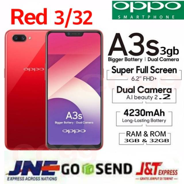 Oppo A3s Shopee Indonesia