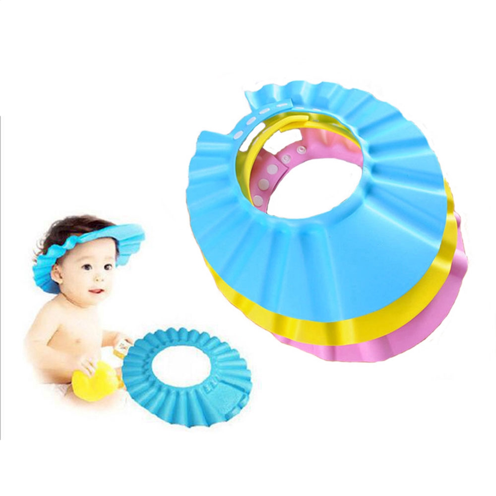 Bathing Protect Soft Hat Soft Eva Material And New Improvement Stye Shampoo Shower Cap For Baby Children Kids Mimbarschool Com Ng