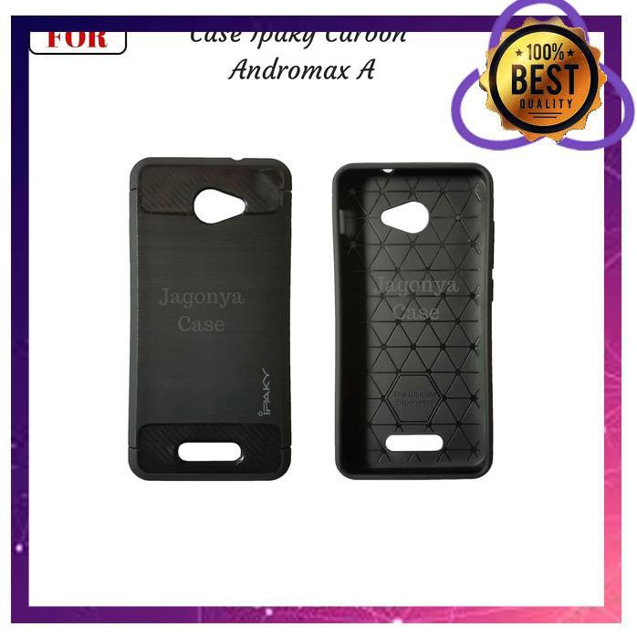 CASE HP SLIM FIT CARBON ANDROMAX A SMARTFREN A16C3H 4 5IN SOFT GALENO ORI JO2062 LR55 | Shopee Indonesia