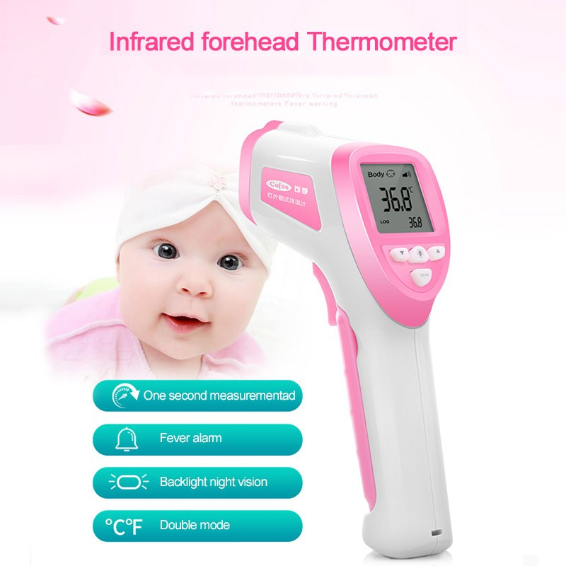 Termometer  Thermometer Infrared LCD Tanpa Kontak Pengukur Suhu untuk Bayi    Dewasa TGB  7c4aa7b18b