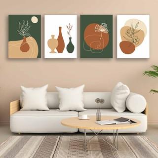 ukuran jumbo hiasan dinding abstrak desain minimalis
