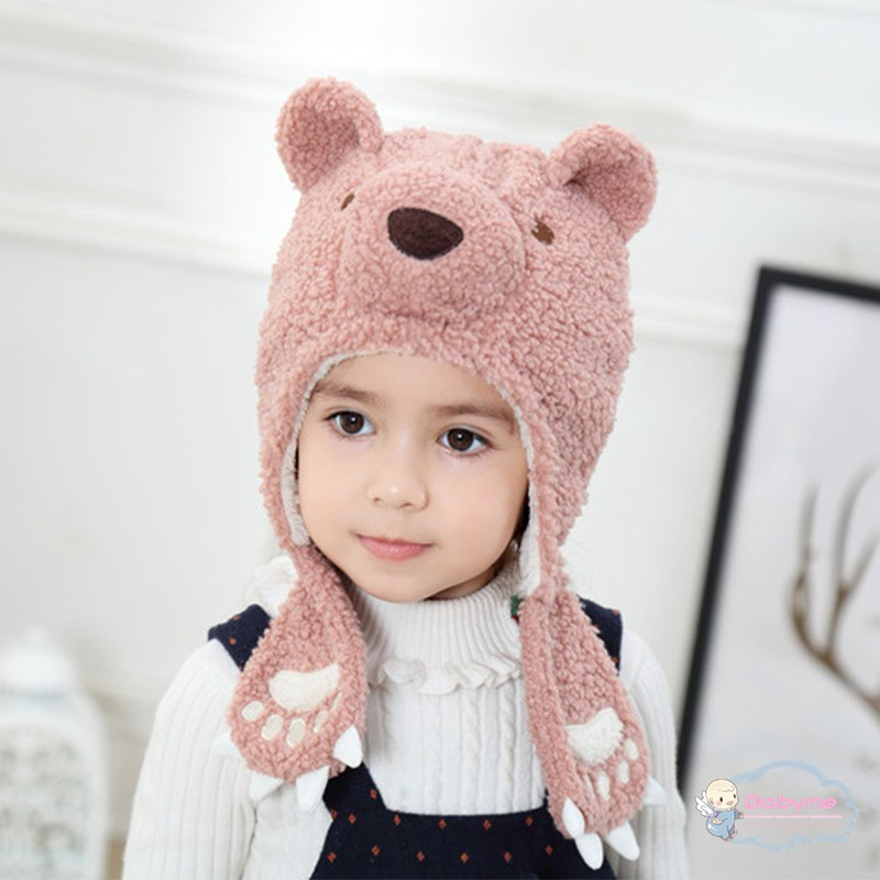 738d351b6 Newborn Baby Boys Girls Warm Hat Kids Cartoon panda Beanies Cotton Cap