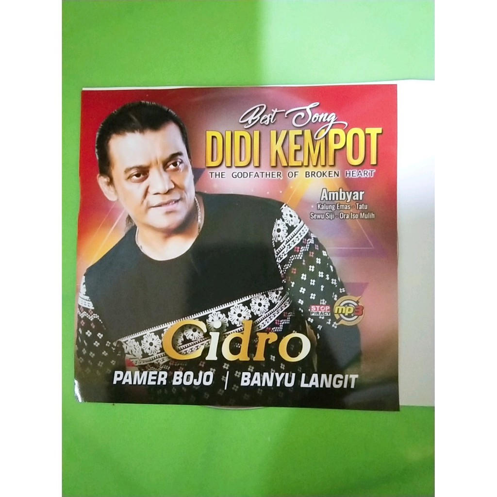 Kaset Mp3 Kumpulan Lagu Didi Kempot Shopee Indonesia