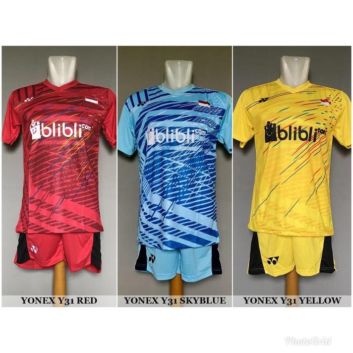 Kaos Singlet Atasan Baju Olahraga Badminton / Bulutangkis Yonex Y25 Benhur | Shopee Indonesia